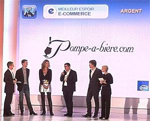 Pompe-à-bière.com Meilleur Espoir Ecommerce 2011