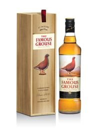 The Famous Grouse en coffret bois