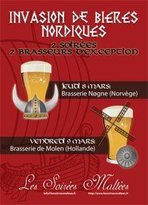 Les Soirées Maltées bières Nordiques