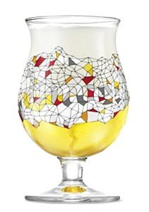 Le verre Duvel Vitrail de Philippe Debongnie