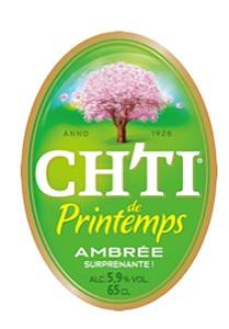 Etiquette de la Ch'ti de Printemps 2012