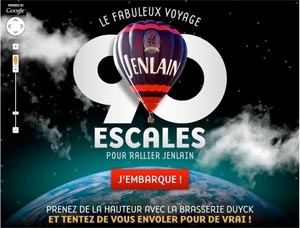 Application 90 escales Jenlain