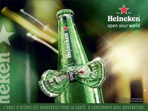 Heineken et sa pub spéciale Cannes
