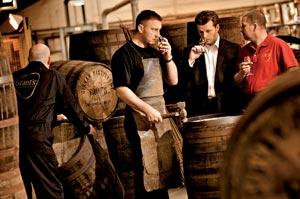 Brian Kinsman à la distillerie