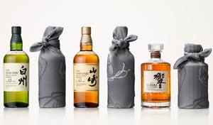 Whiskies Suntory et Furoshiki