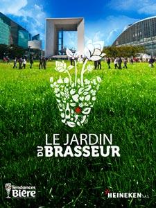 Le Jardin du Brasseur à la Défense