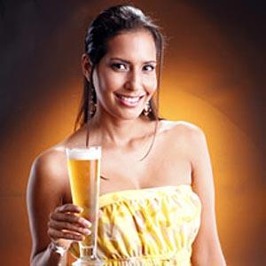 La bière sexy et glamour