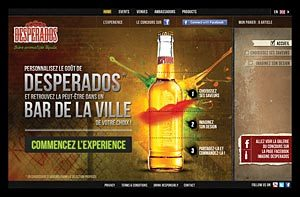 Votre Desperados customisable