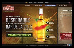 Votre Desperados totalement customisable