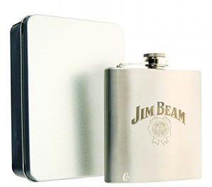 Jouez l'authenticité avec la flasque Jim Beam