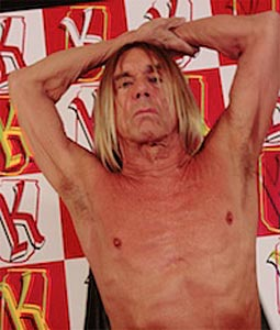 Iggy Pop artiste Pression Live