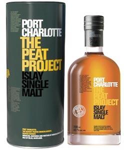 La tourbe révélée de Port Charlotte