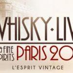 Un Esprit Vintage souffle sur le Whisky Live Paris