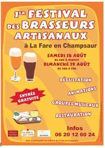 1er Festival des Brasseurs Artisanaux de La Fare en Champsaur