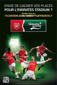 Jeu concours Carlsberg Arsenal