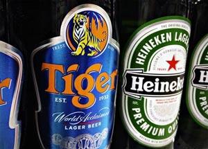 Tiger et Heineken