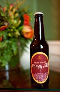 La White House Honey Ale. ©Pete Souza/White House