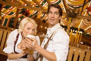 Ce qui fait boire la bière c'est la forme du verre...