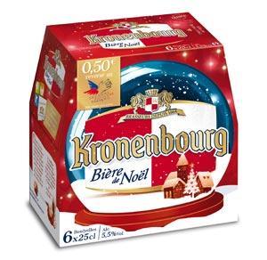 Pack de Kronenbourg de Noël