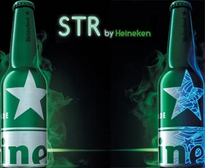 Heineken joue les étoiles de la nuit