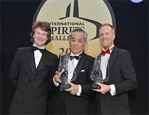 Suntory récompensé à l'ISC 2012