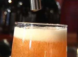 Bière sous pression