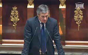 Le ministre Jérôme Cahuzac à l'Assemblée Nationale