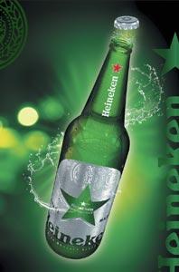 La nouvelle bouteille Heineken One