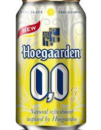 Hoegaarden 0,0 la bière imprononçable et sans alcool