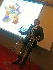 Philippe Vasseur lors de l'AG Brasseurs de France