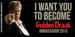 Devenez Ambassadeur Gulden Draak 2013