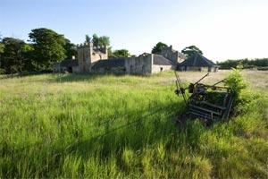 Le site de la future Kingsbarns Distillery