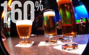 La production de bière en France