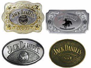 Boucles de ceinture Jack Daniel's