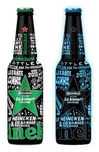 Bouteille Heineken Ed Banger
