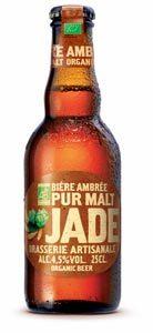 La Jade Ambrée, bière bio