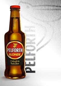 Nouvelle bouteille pour les bières Pelforth
