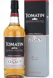 Tomatin met l'héritage dans sa gamme de single malts