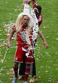 Paulaner a fêté le titre du Bayern de Munich