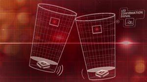 Le verre Budweiser connecté à Facebook