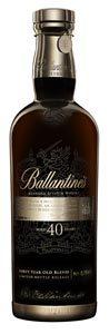 Le très rare whisky Ballantine's 40 ans