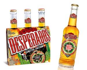 Une édition limitée interactive pour la Desperados 2013