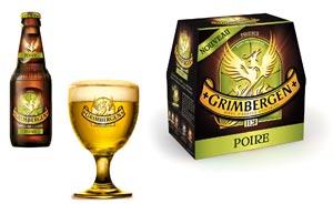 Grimbergen met de la poire dans sa bière