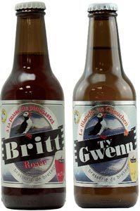 Britt Rosée et Ty Gwenn, les nouvelles bières de la Brasserie de Bretagne