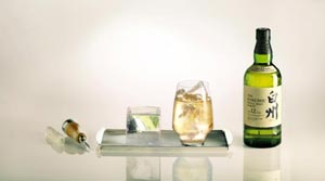 Savourez un Highball Hakushu Forest