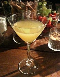 Honeyroom cocktail par David Tanton