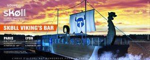 Le SKØLL Viking's Bar s'amarre à Paris et Lyon