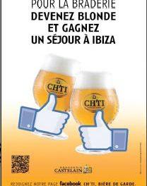 Jouez la blonde à Lille avec Castelain et partez à Ibiza