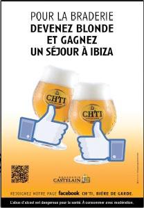 Devenez blonde et partez à Ibiza avec la bière Ch'ti
