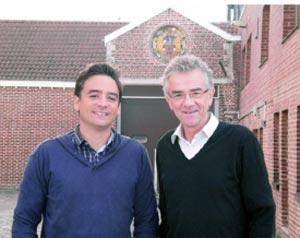 Mathieu et Raymond Duyck